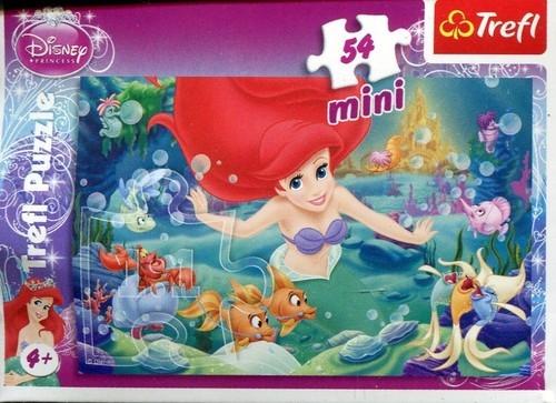 Puzzle 54 mini: Disney Księżniczki Arielka (19388)