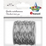 Gumka metalizowana srebrna (363629)