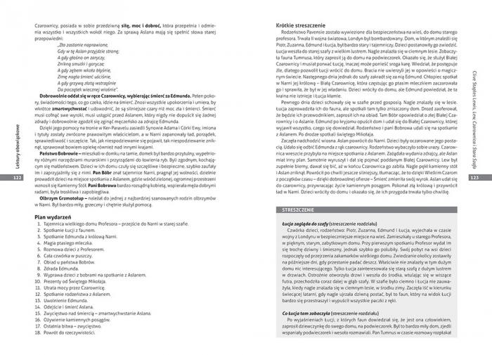Opracowania lektur i wierszy - szkoła podstawowa - klasy 4-6 Opracowanie zbiorowe