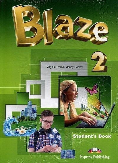 Blaze 2 podręcznik ucznia + ebook Virginia Evans, Jenny Dooley