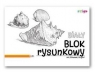 Blok rysunkowy A4/20k 90g biały (SPA013)