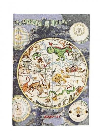 Kalendarz książkowy mini 2020-2021 - Celestial Plan