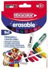 Mazaki Erasable wymazywalne 9+1 FIBRACOLOR