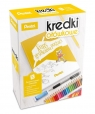 Zestaw Kurs Rysowania+ kredki 24 kolory PENTEL