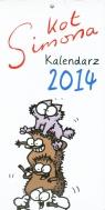 Kalendarz 2014 Kot Simona