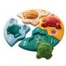 Drewniane puzzle zwierzęta morskie (PLTO-5688)