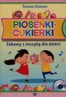 Piosenki cukierki Zabawy z muzyką dla dzieci + CD