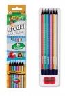 Kredki Premium Kolori metaliczne 6 kolorów PENMATE