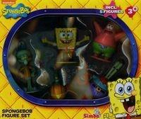 Sponge Bob Zestaw 5-ciu figurek (109494888)