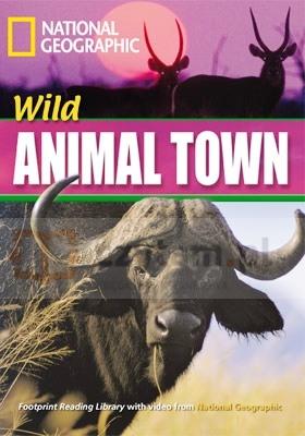 FRL Wild Animal Town z CD (lev.1600) Rob Waring