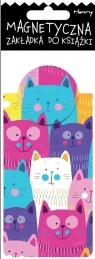 Zakładka magnetyczna Kolorowe Koty