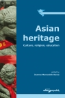 Asian heritage Culture, religion, education Marszałek-Kawa Joanna