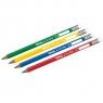 Ołówek trójkątny Jumbo Colorino Kids do nauki pisania (55888PTR) mix