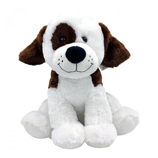 Maskotka Pies Rafał biały z łatką 40 cm (5110a)