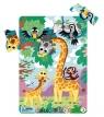 Puzzle ramkowe 21: Żyrafy (DOPR300223)