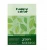 Blok A4/20K Deco Green 170g