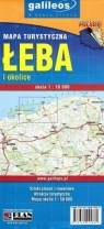 Mapa turystyczna - Łeba i okolice 1:10 000