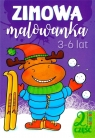 Zimowa malowanka. 3-6 lat cz.2