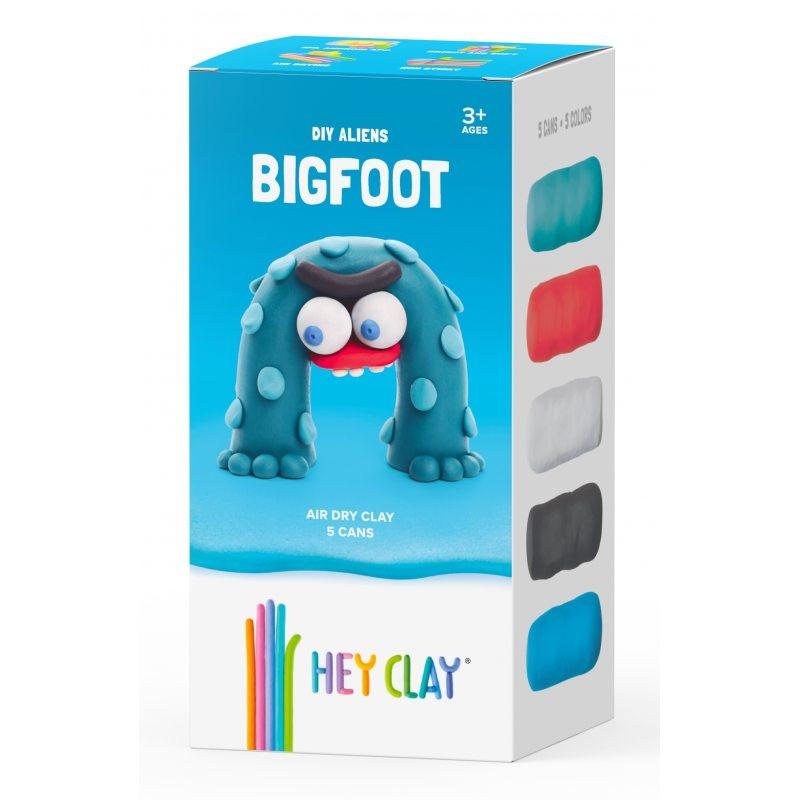 Hey Clay: masa plastyczna - obcy BigFoot (HCLMA006PCS)
