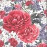Karnet  kwadrat kwiat AF 05