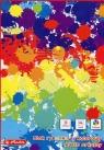 Blok rysunkowy A4 z papierem kolorowym