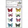 Dekoracje drewniane samoprzylepne - motyle (414461)