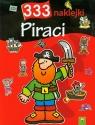 333 naklejki Piraci