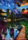 Zeszyt A5 Top-2000 w linie 96 kartek Magic Place mix