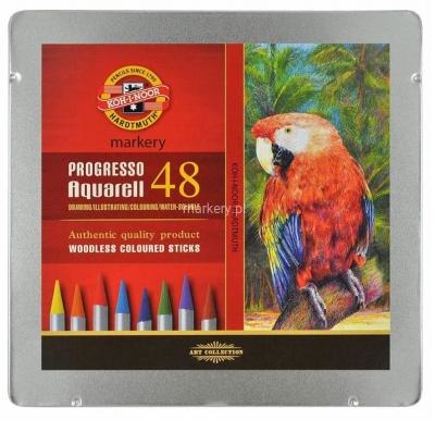 Kredki Progresso Aquarell 48 kolorów