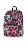 CoolPack - Cross - Plecak młodzieżowy - Camo Pink (Badges)(A26112)