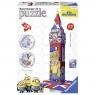 Puzzle 3D. Minionki Big Ben 216 elementów (125890)
