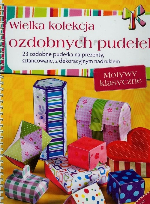 Wielka kolekcja ozdobnych pudełek  23 ozdobne pudełka na prezenty, sztancowane z dekoracyjnym nadrukiem Lenz Angelika