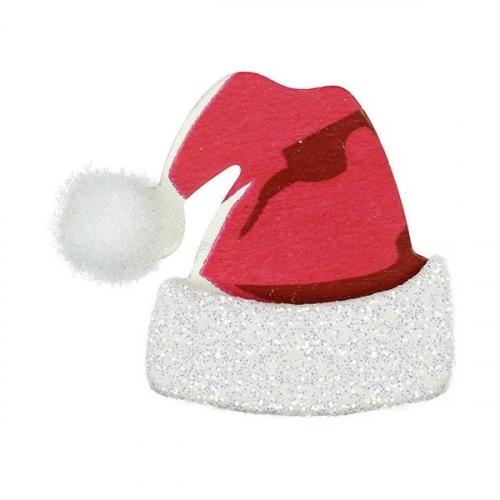 Naklejka czapki Mikołaja (383593)