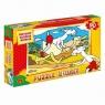 Puzzle 90 Szalony wyścig Przygody Koziołka Matołka  (0889)