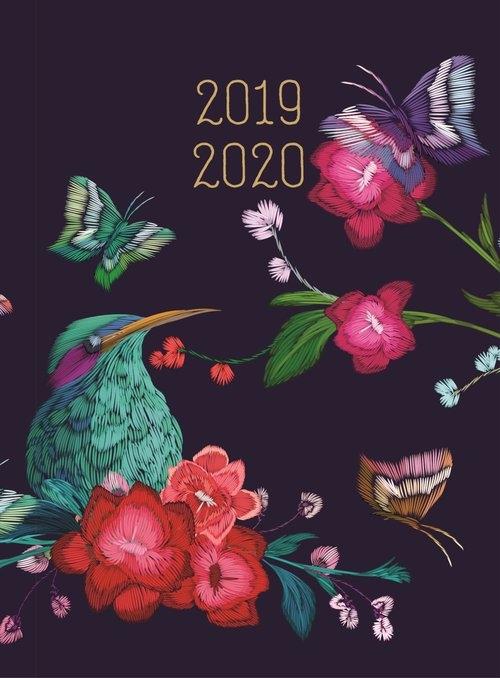 Kalendarz 18 miesięczny DI4 Zimorodek