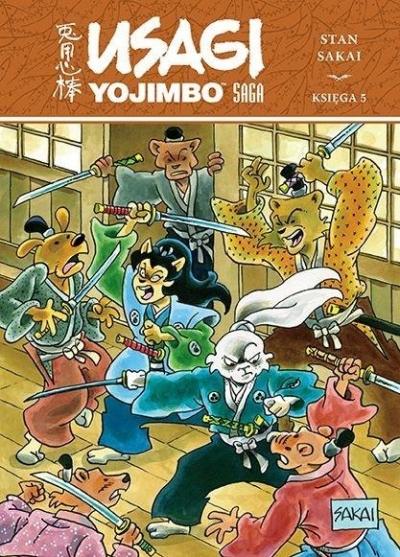 Usagi Yojimbo. Saga Tom 5