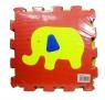 Puzzle podłogowe 6 el. zwierzęta