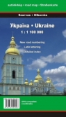 Ukraina 1:1100000 Mapa samochodowa
