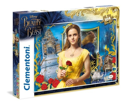 Puzzle SuperColor 104 The Beauty and the Beast (27989)