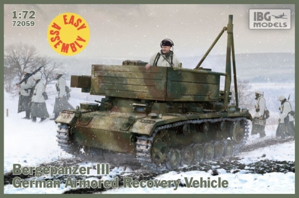 Bergepanzer III Easy Assembly Kit (72059)