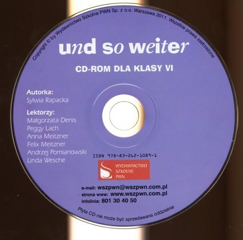 Und so weiter 6 CD do podręcznika Rapacka Sylwia