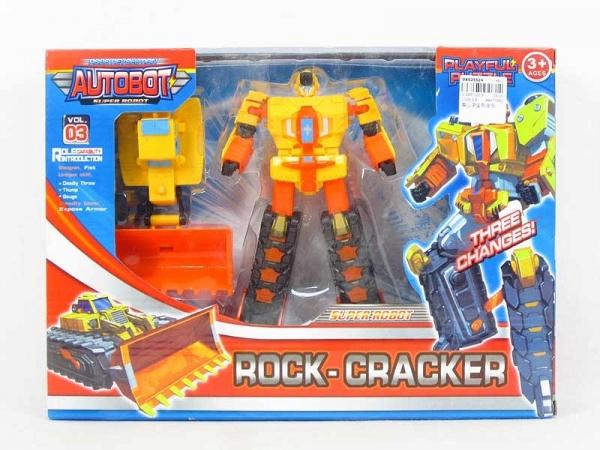 Żółty robot transformujący (DA025524)