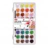 Farbki wodne akwarelowe, paletka 36 kolorów (366239)