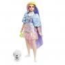 Barbie Extra: Modna lalka z zieloną czapką (GRN27/GVR05)Wiek: 3+