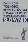 Przestrzeń wolności, bezpieczeństwa i sprawiedliwości w Unii Europejskiej. Słownik
