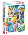 Puzzle SuperColor 104: Disney Dance Time (27289)