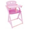 Krzesełko do karmienia dla lalek