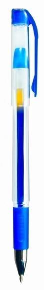 Długopis żelowy 0.7 mm niebieski (12szt.) KZ107-N