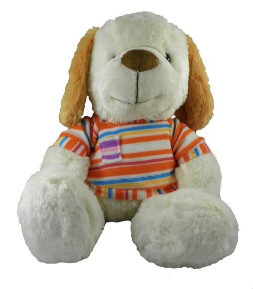 Piesek Amik pomarańczowa koszulka 30cm