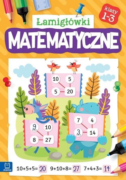 Łamigłówki matematyczne klasy 1-3
